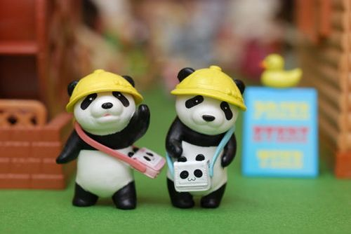 Panda Workers - Lego